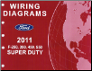 2011 Ford F-250, 350, 450 & 550 Truck Factory Wiring Diagrams (SKU: FCS1461211)