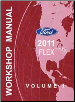 2011 Ford Flex Factory Workshop Manual (SKU: FCS1510611)