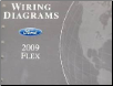 2009 Ford Flex Wiring Diagrams Manual (SKU: FCS1510709)