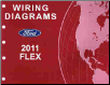 2011 Ford Flex Factory Wiring Diagrams (SKU: FCS1510711)