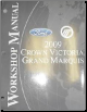 2009 Ford Crown Victoria & Mercury Grand Marquis Factory Service Manual (SKU: FCS1219109)