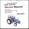 Ford 2000, 3000, 4000, 5000, 7000, 3400, 3500, 3550, 4400, 4500, 5500, 5550 Tractor Service & Parts Manual CD (SKU: FO-S-2000-7000-CD)