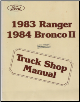 1983 Ford Ranger and 1984 Ford Bronco II Factory Service Manual (SKU: FPS12013B)