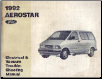 1992 Ford Aerostar - Electrical and Vacuum Troubleshooting Manual (SKU: FPS1211392)