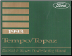 1993 Ford / Mercury Tempo & Topaz Factory Electrical and Vacuum Troubleshooting Manual (SKU: FPS1212493)