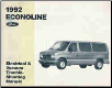 1992 Ford Econoline & Club Wagon - Electrical and Vacuum Troubleshooting Manual (SKU: FPS1212892)