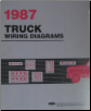 1987 Ford All Trucks Factory Wiring Diagrams (SKU: FPS1213587)