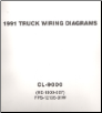 1991 Ford CL-9000 Truck Wiring Diagrams (SKU: FPS1213591W)