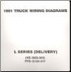 1991 Ford Medium/Heavy Truck L-Series Wiring Diagrams (Delivery Configuration) (SKU: FPS1213591Y)