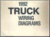 1992 Ford Truck Factory Wiring Diagrams (SKU: FPS1213592)