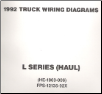 1992 Ford Medium/Heavy Truck L-Series Wiring Diagrams (Haul Configuration) (SKU: FPS1213592X)