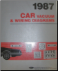 1987 Ford Cars Factory Vaccum and Wiring Diagrams (SKU: FPS1213687)