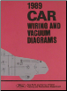 1989 Ford Car Factory Wiring and Vacuum Diagrams (SKU: FPS1213689)
