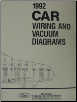 1992 Ford Cars Factory Wiring and Vacuum Diagrams (SKU: FPS1213692)