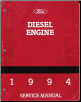 1994 Ford Medium Heavy Duty Diesel Engine Factory Service Manual (SKU: FPS1216394)