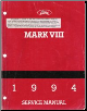1994 Lincoln Mark VIII Factory Service Manual (SKU: FPS1219294)