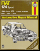 1968 - 1978 Fiat 124 Sport Coupe & Spider, Haynes Repair Manual (SKU: 0900550945)
