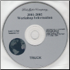 2001 -2002 Model Year Ford Truck & Van: Factory Workshop Information CD-ROM (SKU: FCS1255101T9)