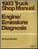 1983 Ford  Truck Shop Manual, All Models - Engine / Emissions Diagnosis, Volume HT (SKU: FPS36512632683HT)