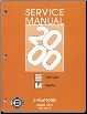 2000 Chevy Cavalier And Pontiac Sunfire Factory Service Manual - 2 Volume Set (SKU: GMP00J1)