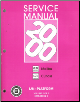 2000 Chevrolet Mailibu, Oldsmobile Cutlass Factory Service Manual - 2 Volume Set (SKU: GMP00LN1-2)