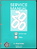 2000 Pontiac Grand Am, Oldsmobile Alero & Buick Skylark Factory Service Manual - 2 Volume Set (SKU: GMP00N)