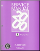 2000 Pontiac Grand Prix Factory Service Manual - 3 Volume Set (SKU: GMP00WP)