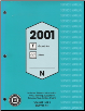 2001 Pontiac Grand Am & Oldsmobile Alero Factory Service Manual - 2 Volume Set (SKU: GMP01N)