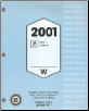 2001 Buick Regal & Century Factory Service Manual - 3 Volume Set (SKU: GMP01WB1-2-3)