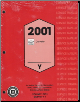 2001 Chevrolet Corvette Service Manual - 3 Volume Set (SKU: GMP01Y)