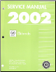 2002  Cadillac Eldorado  Factory Service Manual - 2 Volume Set (SKU: GMP02E1-2)