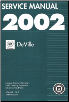 2002 Cadillac Deville Factory Service Manual (SKU: GMP02KSP)