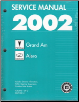 2002 Pontiac Grand Am & Oldsmobile Alero Factory Service Manual - 3 Volume Set (SKU: GMP02N)