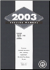 2003 Cadillac CTS Factory Service Manual- 2 Volume Set (SKU: GMP03D)
