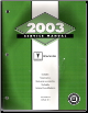 2003 Pontiac Bonneville Service Manual - 2 Volume Set (SKU: GMP03HP1-2)