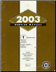 2003 Pontiac Grand Am & Oldsmobile Alero Factory Service Manual - 2 Volume Set (SKU: GMP03N1-2)