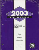 2003 Chevrolet Impala and Monte Carlo Service Manual (SKU: GMP03WCI1-3)
