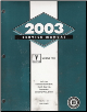 2003 Pontiac Grand Prix Factory Service Manual - 3 Volume Set (SKU: GMP03WP)