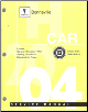2004 Pontiac Bonneville Factory Service Manual - 2 Volume Set (SKU: GMP04HP)