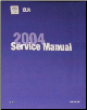 2004 Cadillac XLR Factory Service Repair Workshop Manual (SKU: GMP04XLR)