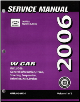 2006 Chevrolet Impala and Monte Carlo Service Manual (SKU: GMP06WCI)