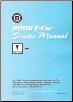 2008 Pontiac G8 Factory Service Manual (SKU: GMP08E)