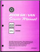 2008 Chevrolet Express & GMC Savana Van Factory Service Manual (SKU: GMT08G6)