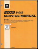2009 Cadillac CTS Factory Service Manual - 4 Volume Set (SKU: GMP09D)