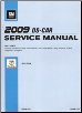 2009 Cadillac STS, STS-V Factory Service Manual - 5 Volume Set (SKU: GMP09DS)