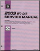 2009 Chevrolet Impala & Monte Carlo Factory Service Manual - 3 Volume Set (SKU: GMP09WCI)