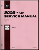2009 Chevrolet Corvette Factory Service Manual - 4 Vol. Set (SKU: GMP09Y)