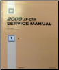 2009 Pontiac G6 Factory Service Repair Manual (SKU: GMP09ZP)