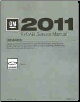 2011 Chevrolet Camaro Factory Service Manual, 4 Volume Set (SKU: GMP11F)