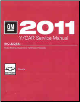 2011 Chevrolet Corvette Factory Service Manual- 4 Volume Set (SKU: GMP11Y)